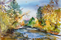 Painting Workshop at Catoctin Mountain Park